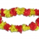 blumen_kette_flower_lei_ring_football_fan_supporter_rot_gelb_red_yellow_supporter