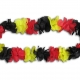 blumenkette_deutschland_schwarz_rot_gelb_flower_lei_ring_chain_black_red_yellow_supporter_fan